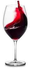 travel langhe full red wine glass